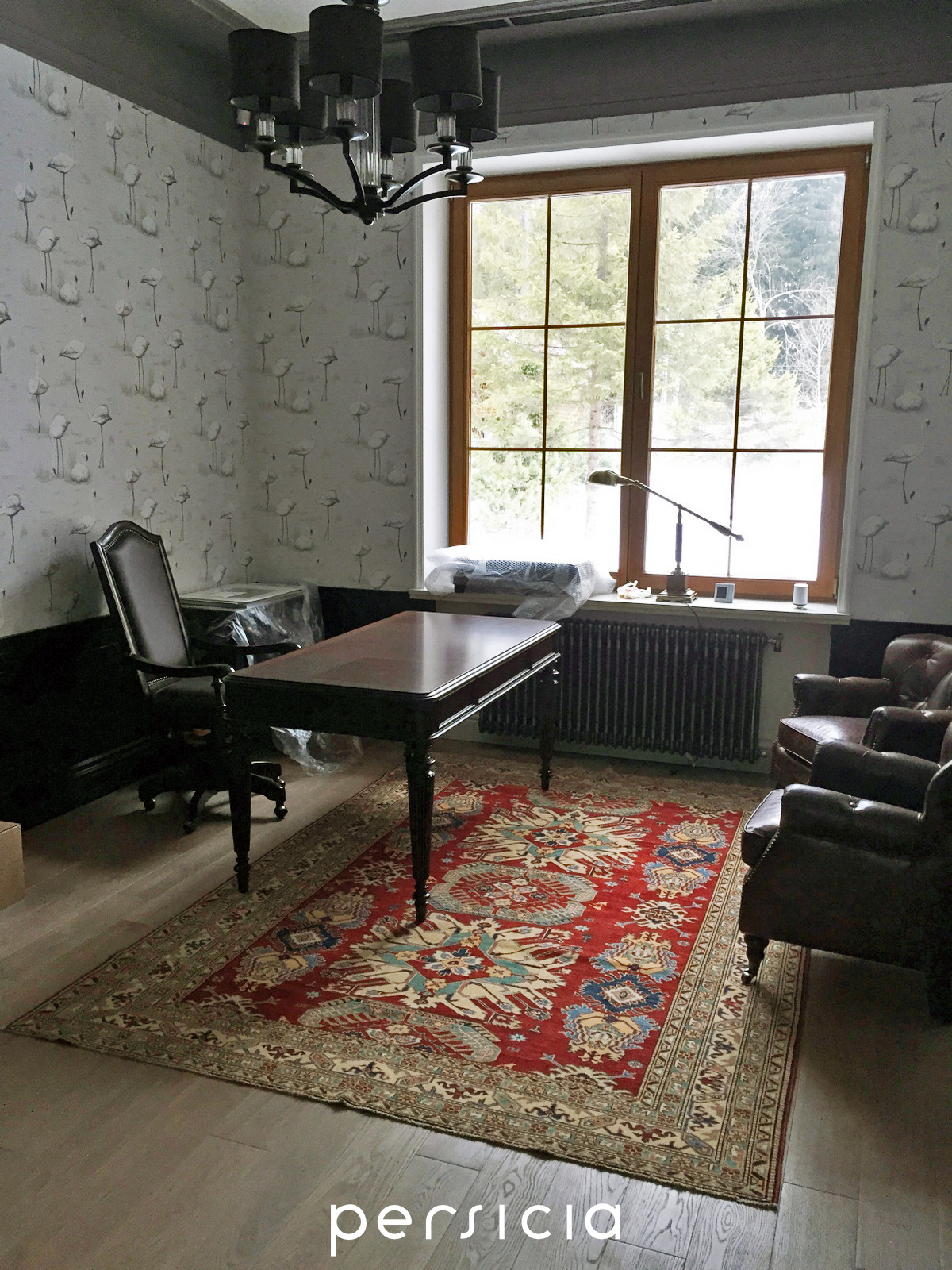 Яркие ковры в кабинет |Ковры Казах (Казак) | Азербайджанские ковры | Афганские ковры | Kazakh Persicia
