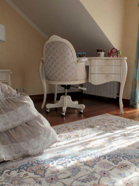 Светлые ковры в интерьере