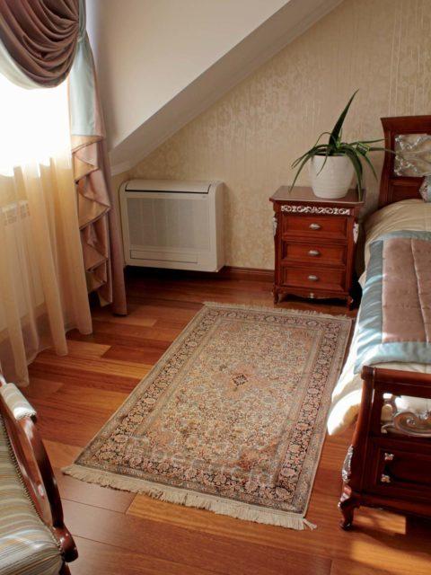 Шелковые ковры в спальню