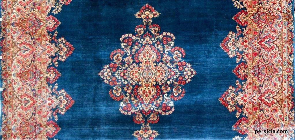 Antique Kerman Persian Rug 35905
