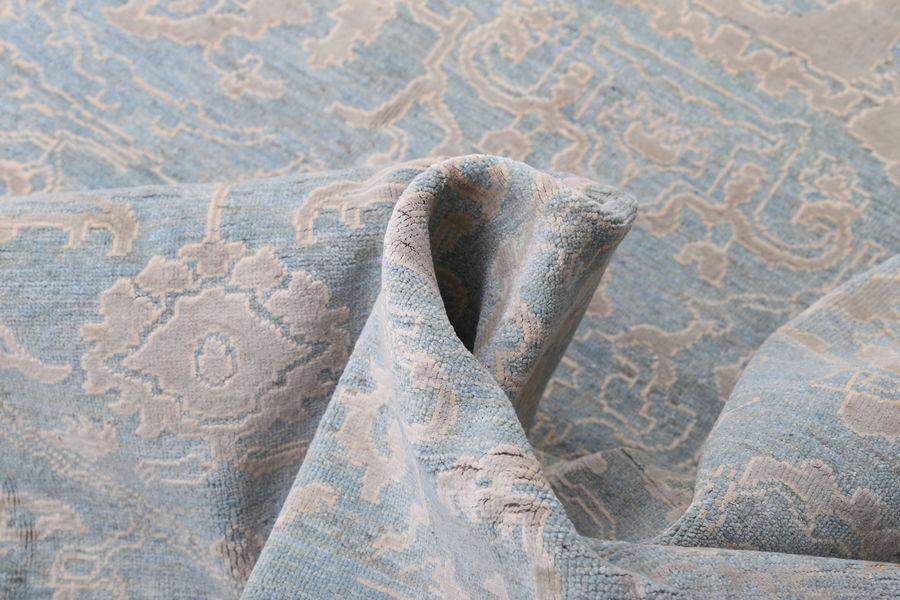 Голубой ковер ручной работы Афганистан