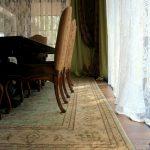 Ковры Персиция в доме на Рублевке. Ковер под обеденный стол. Интерьер
