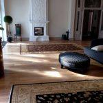 Элитные ковры Персиция в интерьере дома на Финском заливе