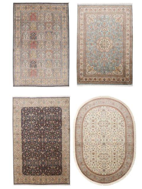 Ковры Кашмир | Элитные шелковые ковры