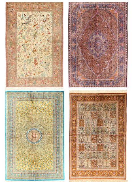 Ковры Кум | Элитные шелковые ковры