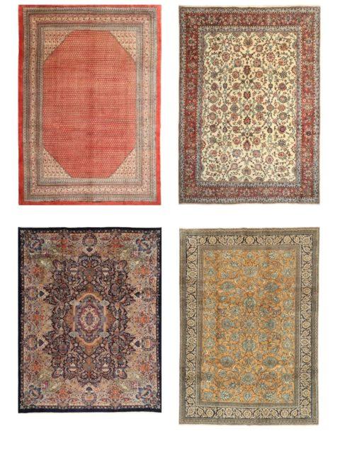 Персидские ковры | Сарук и Кашмар