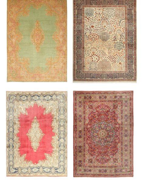 Персидские ковры | Керман | Эксклюзивные классические ковры