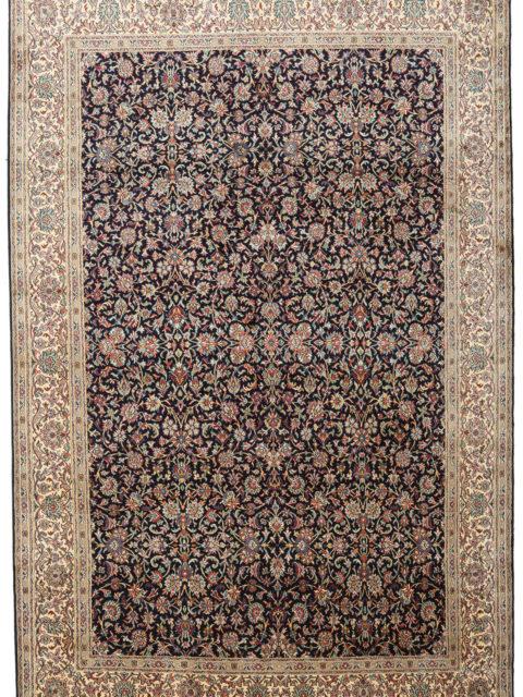 Голубой шелковый ковер Кашмир | Роскошные шелковые ковры кашмир — покупайте по лучшей цене в persicia