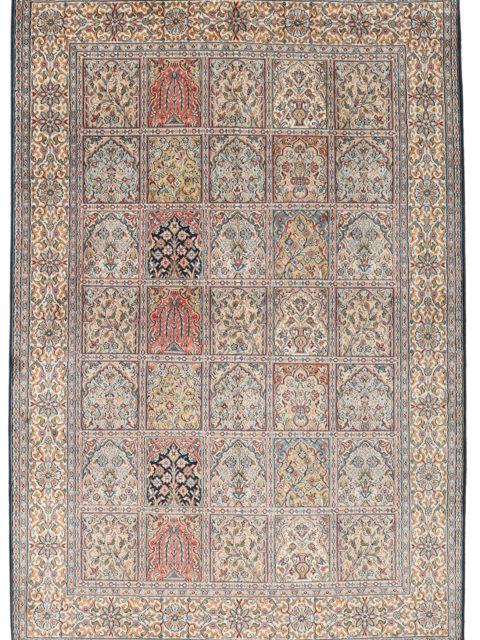 КОВЕР РАЙСКИЙ САД (ХЕШТИ) | Роскошные шелковые ковры кашмир — покупайте по лучшей цене в persicia