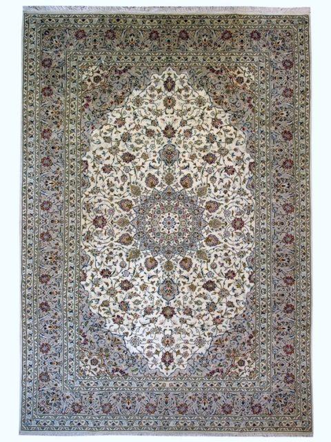 Персидский шерстяной ковер Кашан купить
