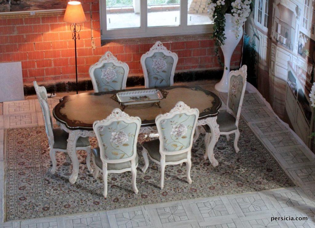Элитные шерстяные персидские ковры Кашан (Кешан)