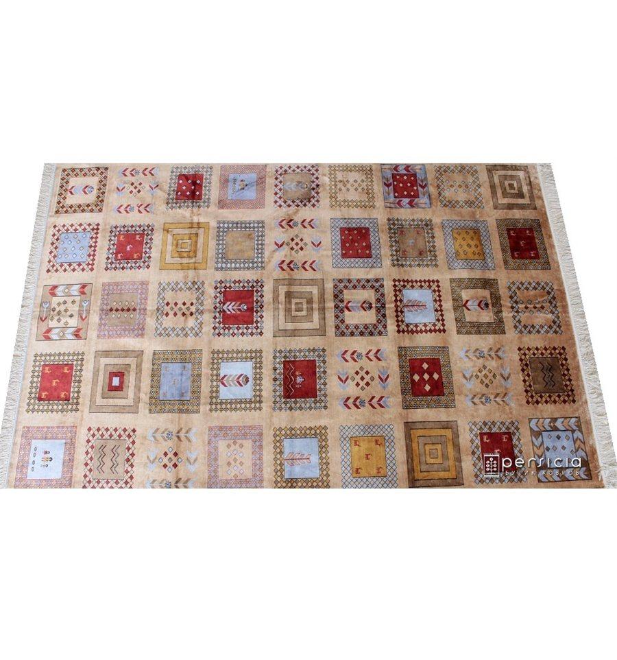 298x205 isfahan stil gabbeh 100 shelk
