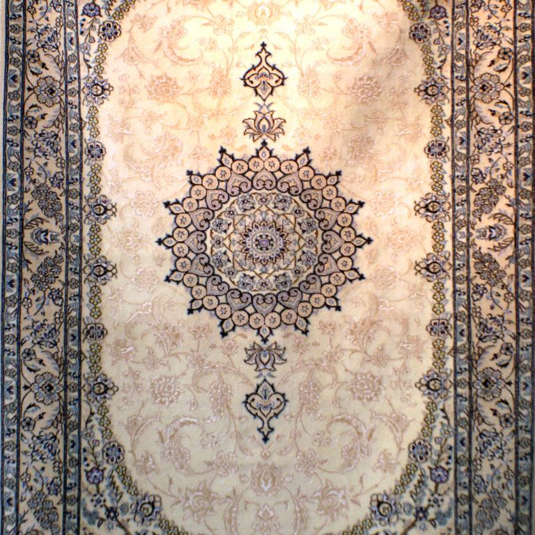 214×132. Элитный персидский ковер Наин 9 Ла