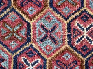 Афганский ковер Балуч, натуральные красители
