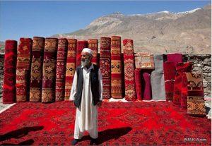 Рынок афганских ковров