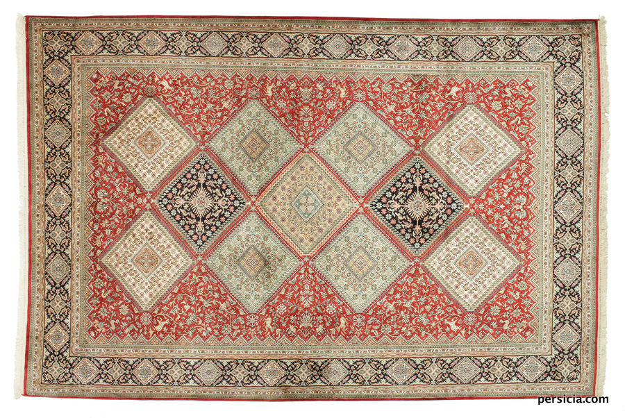 Kashmir red squares